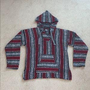 Mexican Baja Hoodie/Sweatshirt Large